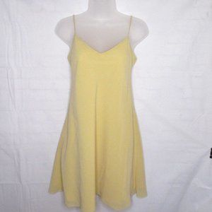 Vintage a.b.s Evening Collection Soft Yellow Dress